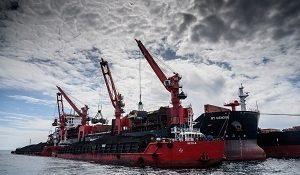 Угольный морской порт Шахтерск