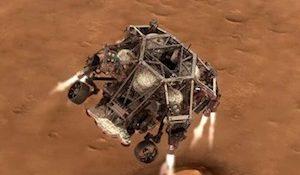Марсоход Perseverance («Настойчивость»)