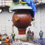 На стройплощадке Курской АЭС-2 смонтированы 4 корпуса главных циркуляционных насосов