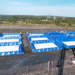 Компания «Нефтетанк» возвела полевые склады ГСМ на Усть-Хантайской и Курейской ГЭС в Красноярском крае