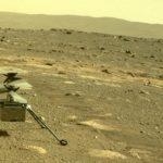 Вертолет NASA снял первое фото на Марсе