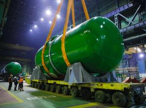 корпус реактора АЭС «Руппур» Атомэнергомаш
