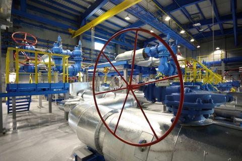 Производственный цех установки предварительной подготовки газа №2 на Чаяндинское нефтегазоконденсатное месторождение (ЧНГКМ)