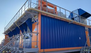 теплоэлектростанция Харп-12 мощностью 3 мегаватта в поселке Харп (Ямало-Ненецкий автономный округ)