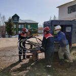 Работники Костромаэнерго поддержали электроснабжение лечебного учреждения в период паводка
