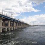 Волжская ГЭС работает в режиме специального обводнительного попуска в низовья Волги