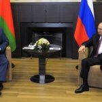 Пятичасовые переговоры Путина и Лукашенко завершились в Сочи