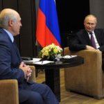 Путин и Лукашенко продолжают переговоры в Сочи