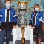 Кубок Гагарина прибыл на Омский НПЗ