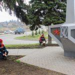 Белгородские энергетики обеспечили освещение стелы погибшим воинам вnbsp;поселке Борисовка