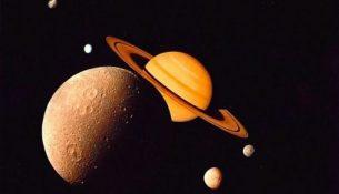 космос сатурн