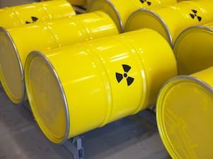 ХОЯТ ядерные отходы бочки