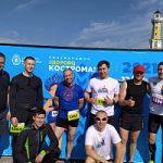 Профсоюз Костромаэнерго выставил команду на полумарафоне в День России