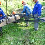 В Смоленскэнерго прошли учения по организации и проведению аварийно-восстановительных работ в условиях неблагоприятных гидрометеорологических явлений