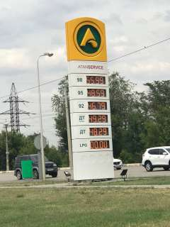 АЗС в Крыму