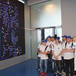 Участники студенческого отряда Курскэнерго посетили первый межрегиональный Центр управления сетями