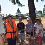 Студотряд Россети Центр принял участие в организации маршрутной игры по основам безопасности для школьников Костромской области