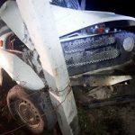 В Тюменской области гонщик врезался в опору ЛЭП