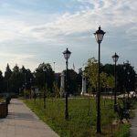Смоленскэнерго выполнило переустройство воздушной линии на территории Сквера Героев в г. Вязьма Смоленской области