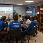 Связь поколений: студенческий отряд познакомился с современными энергообъектами Смоленщины и историей энергетики региона