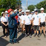 Стройотрядовцы Липецкэнерго посетили одну из ключевых подстанций Липецкэнерго