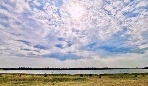 Соленое озеро в Тюменской области