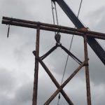 «Якутскэнерго» восстановило поврежденную пожаром ЛЭП «Кюпцы – Усть-Мая»