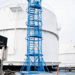 На Дудиноской и Норильский нефтебазах смонтированы системы противоаварийной защиты