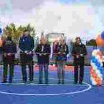 В Полярных Зорях блвгодаря Кольской АЭС появился стадион международного уровня