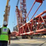 На стройплощадке АЭС «Аккую» смонтирован второй самоходный строительный кран