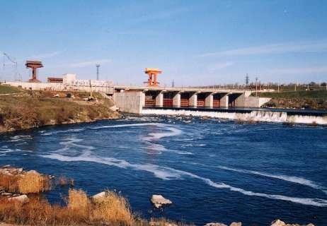 Южноукраинск Александровская ГЭС