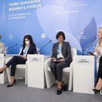 Женщины-руководители предприятий Росатома приняли участие в Евразийском женском форуме