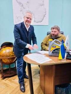 Евгений Дикий, директор Национального антарктического научного центра(НАНЦ)
